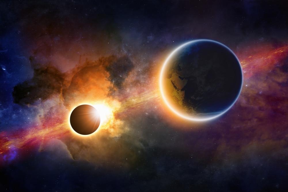Image result for eclipse solar universo