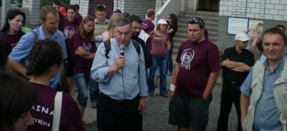 O. Henryk Dziadosz SJ, misjonarz na Ukrainie