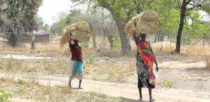 02. Codzienne życie w wiosce w Sudanie Południowym.