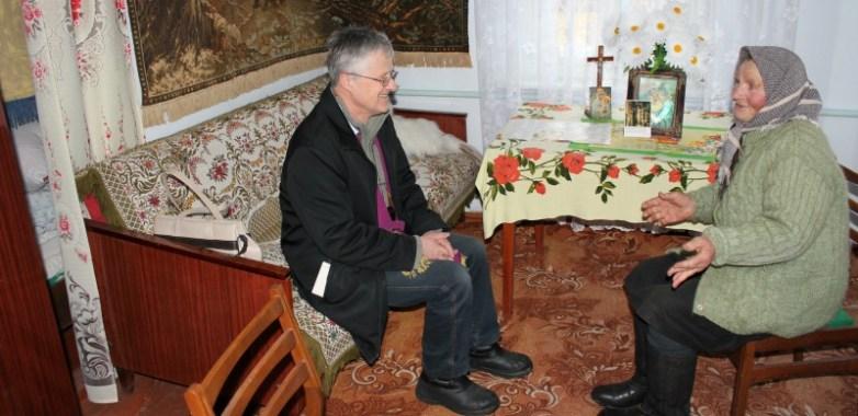 O. TADEUSZ SAROTA SJ, MISJONARZ NA UKRAINIE