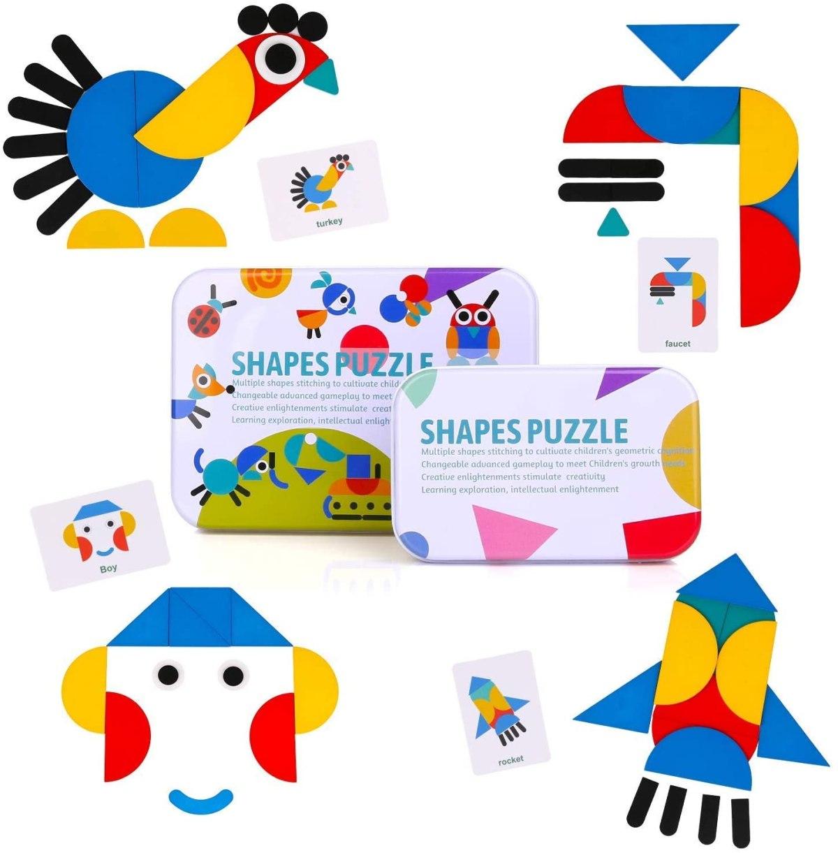 shapes puzzles