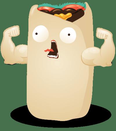burrito throw throw burrito juego