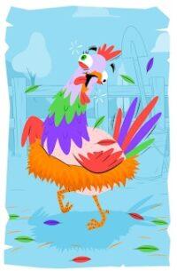gallina despistada