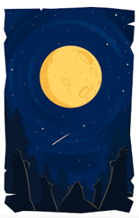 luna desplumados