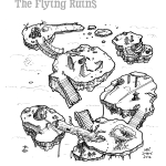 019_flying_ruins-bw_lineart