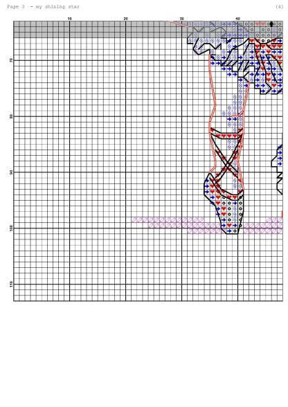 Página del gráfico de punto de cruz BALLERINA-5