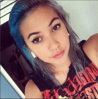 Jup I died my hair blue ... by accident haha