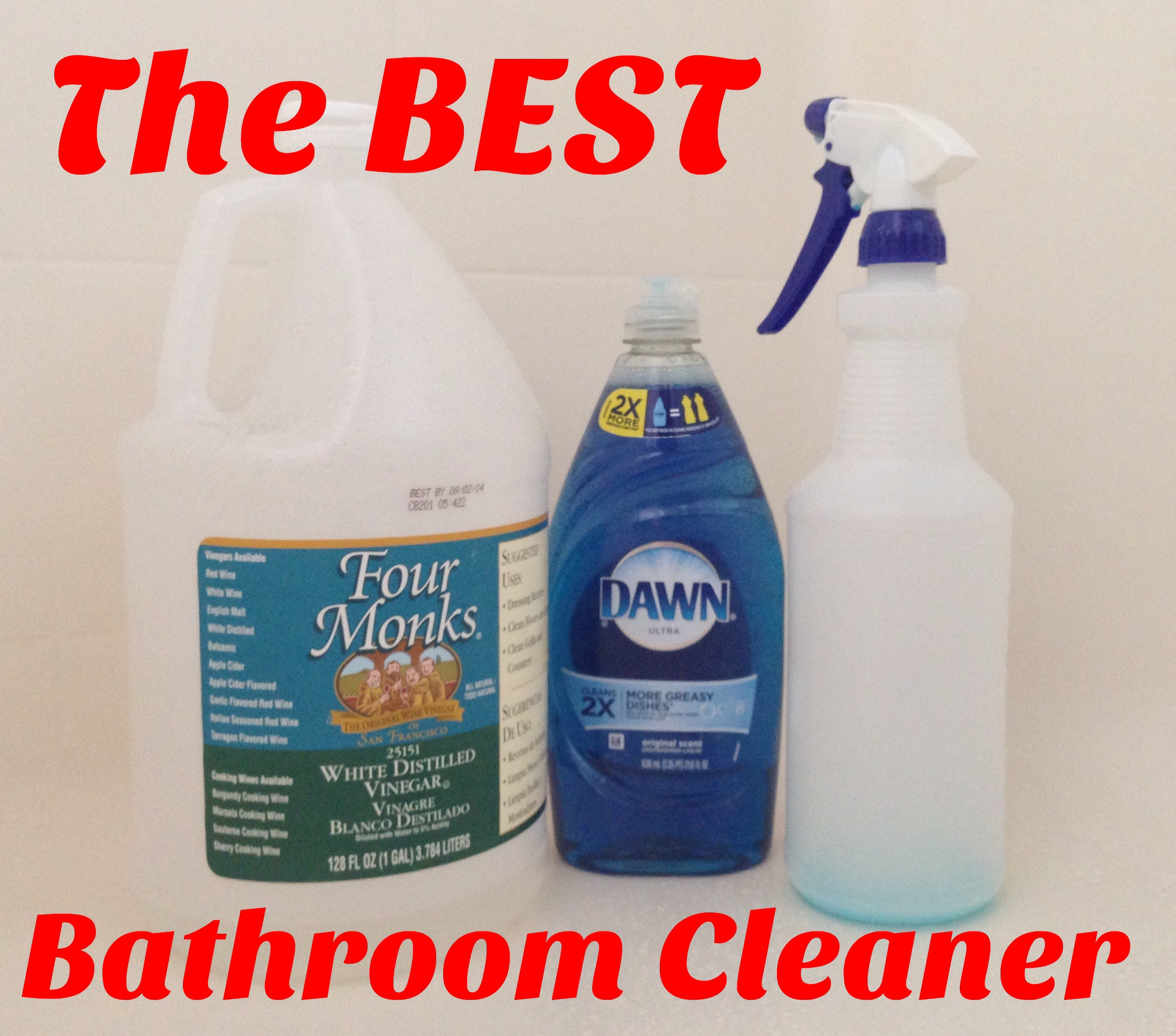 The BEST Bathroom Cleaner  MisMashedMom
