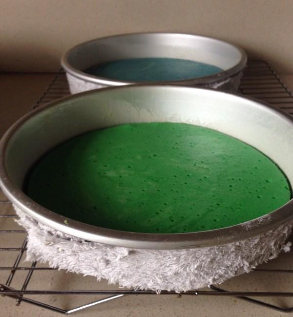 Baking Flat Cakes