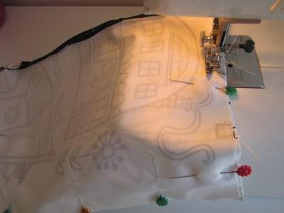 mis nancys, mis peques y yo, tutorial funda de cojin coser