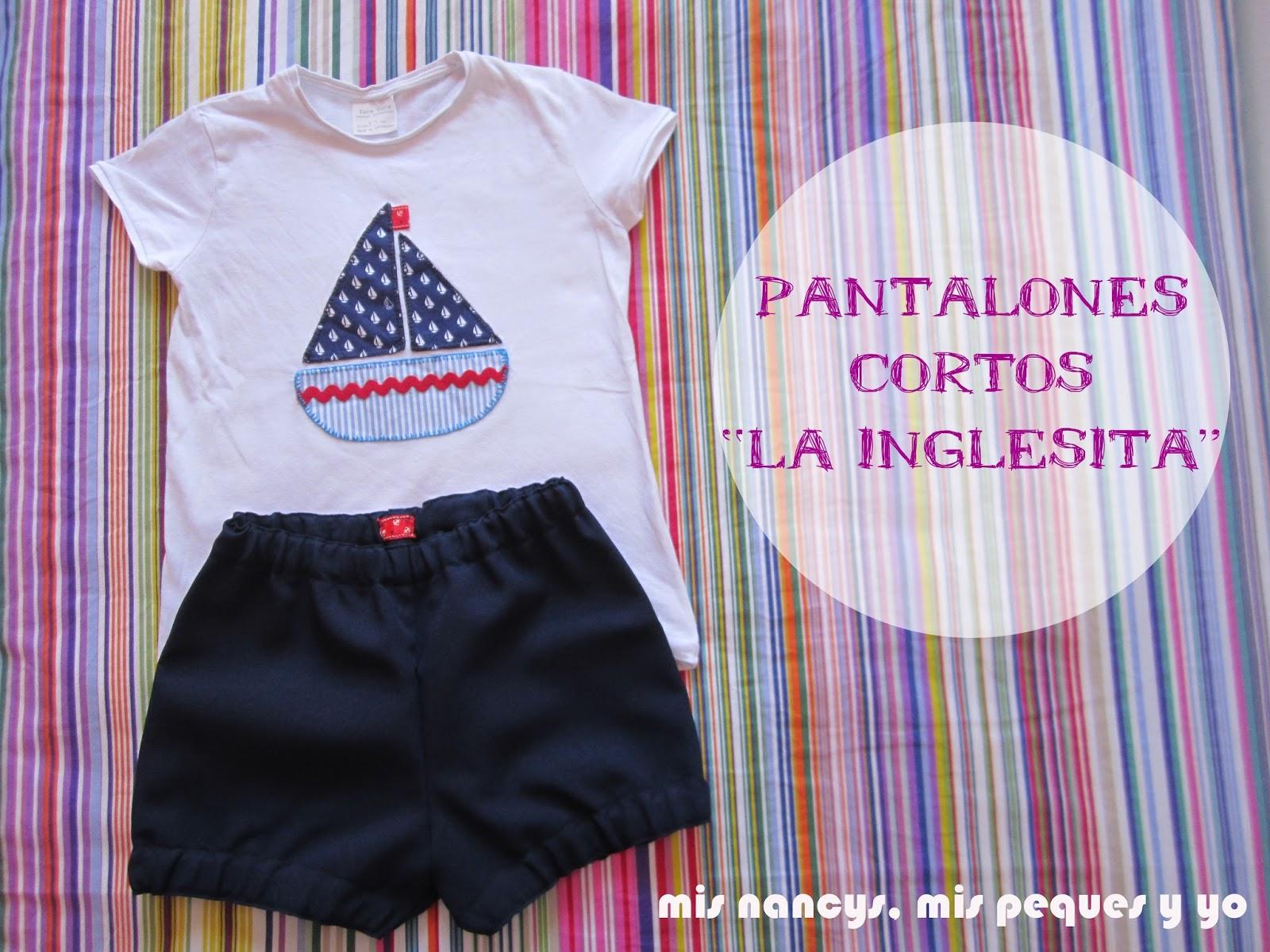 """Pantalones cortos """"La Inglesita"""""""