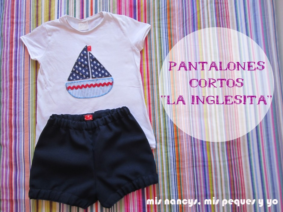 mis nancys, mis peques y yo, pantalones cortos la inglesita