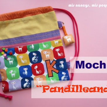 Mochila «Pandilleando» (Regalos para 7, parte 1)