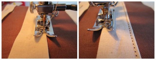 mis nancys, mis peques y yo, tutorial bolsita de viaje, coser pespunte tiras