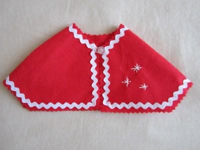 mis nancys, mis peques y yo, disfraz navidad nancy capa