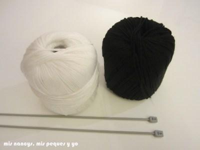 mis nancys, mis peques y yo, tutorial jersey de lana para Nancy, materiales