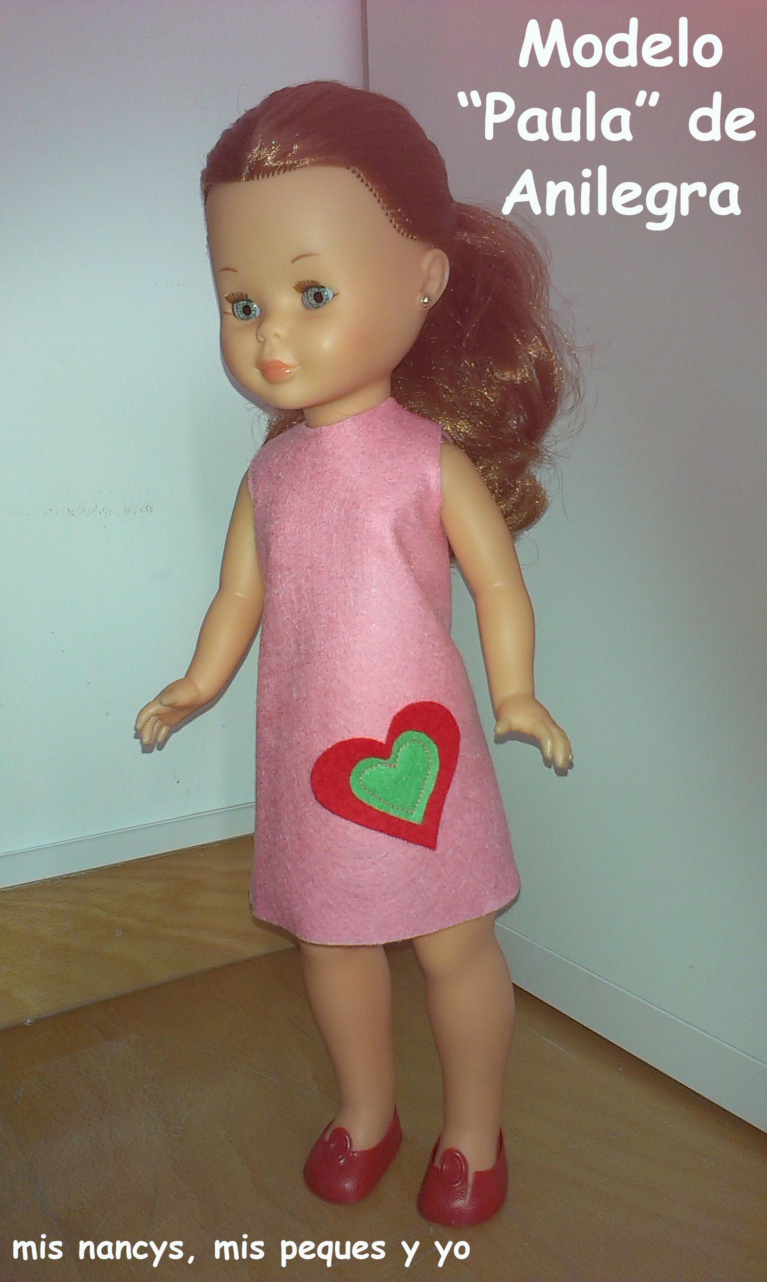 Modelo «Paula» de Anilegra para Nancy