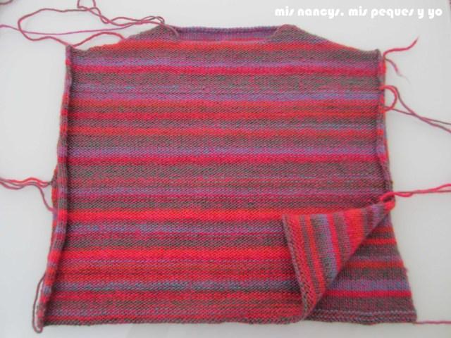 mis nancys, mis peques y yo, Tutorial DIY como coser un jersey de lana, enfrentar delantero y trasero