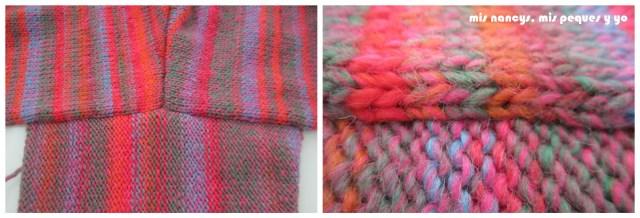 mis nancys, mis peques y yo, Tutorial DIY como coser un jersey de lana, costura manga