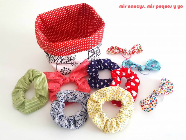 mis nancys, mis peques y yo, cestas de tela reversibles, regalo handmade