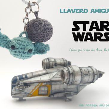 Llavero amigurumi Star Wars