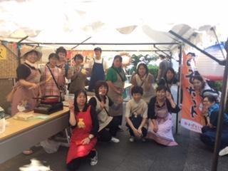 みそポテト 文化祭
