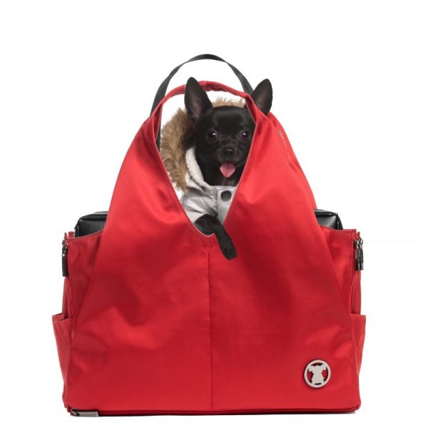 Red Sporty Pet Carrier