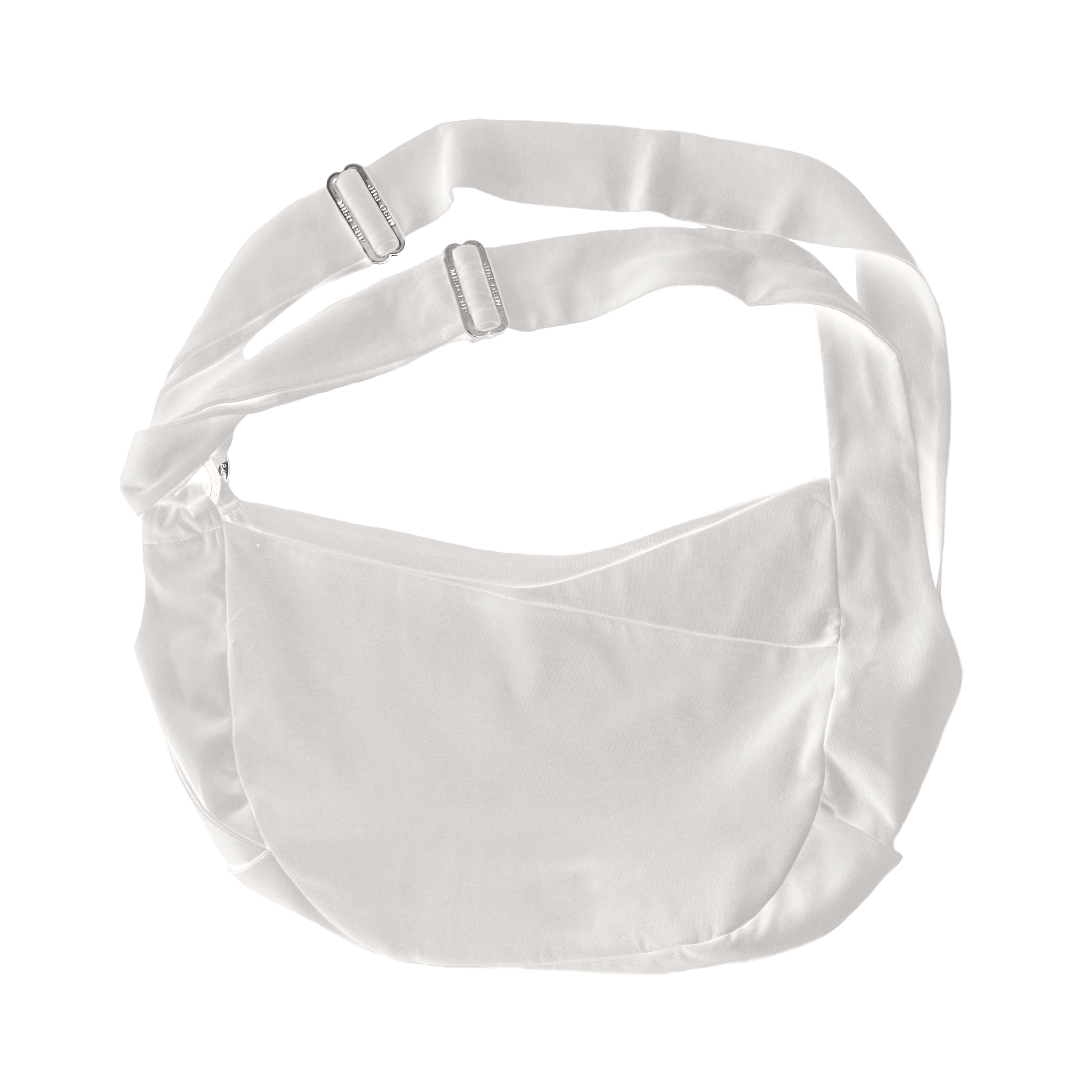 Miso Pup Dual Strap Sling White Silver