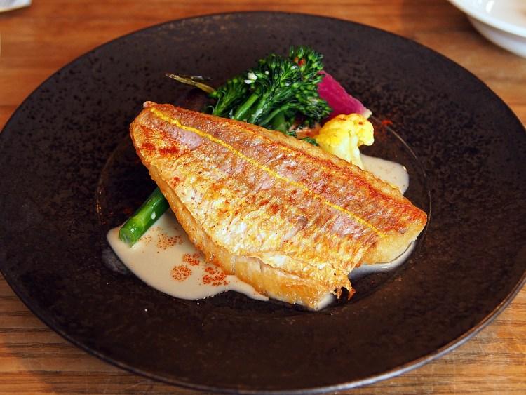 魚メイン イトヨリダイのポアレ