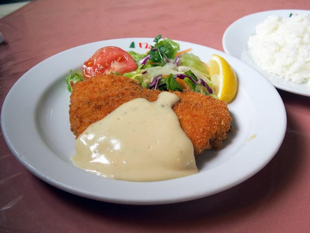 魚のフライ トンノマヨネーズ