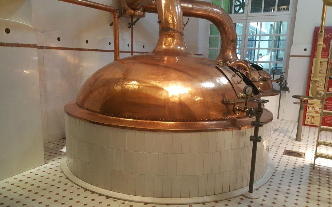 Visita a la fábrica de cerveza Ámbar en Zaragoza