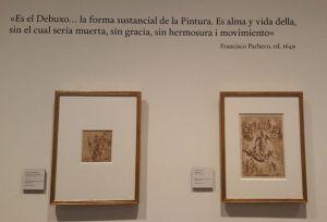 Exposición El dibujo español en el gusto privado 3 Mis Palabras con Letras