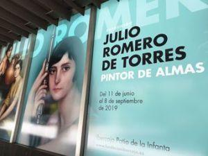 Exposición Julio Romero de Torres 1 Mis Palabras con Letras