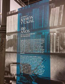 Exposición Ramón y Cajal 3 Mis Palabras con Letras
