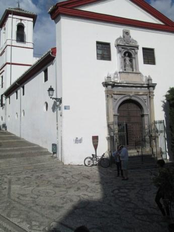 Iglesia de San gregorio Bético. Albaicín. Granada. Foto: Francisco López