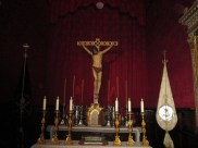 Cristo del Silencio. Iglesia de San José. Albaicín. Foto: Francisco López