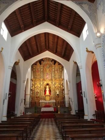 Interior. Iglesia de Nª Sra. de la Aurora y San Miguel Bajo. Albaicín. Foto: Francisco López