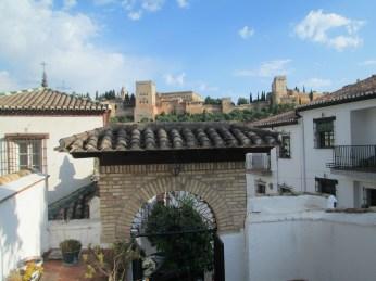 Peña la Platería. Vistas de la Alhambra. Albaicín. Granada. Foto: Francisco López