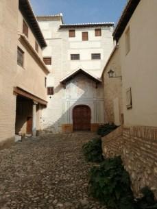 Monasterio de Santa Isabel la Real. Acceso. Albaicín. Foto: Francisco López