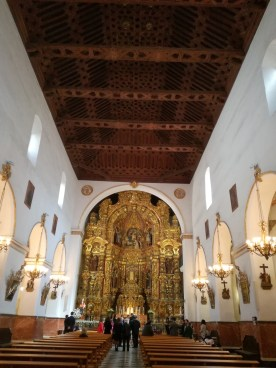 Interior. Iglesia de San Ildefonso. Granada. Foto: Francisco López