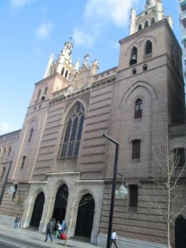 """Iglesia del Sagrado Corazón """"Jesuitas"""". Gran Vía. Granada. Foto: Francisco López"""