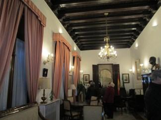 Palacio Müller. Salón inferior. Granada. Foto: francisco López