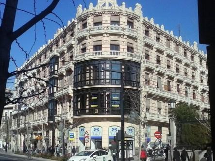 Edificio el Americano. Gran Vía. Granada. Foto: Francisco López