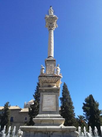 Triunfo de la Virgen. Jardines del Triunfo. Granada. Foto: Francisco López