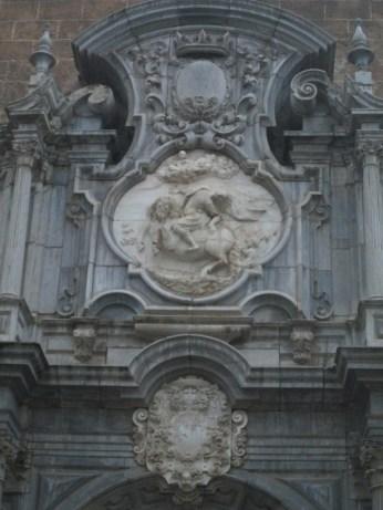 Motivo central. Caída de San Pablo del caballo