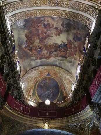 Bóveda y Coro. Pinturas murales. San Juan de Dios. Granada. Foto: Francisco López