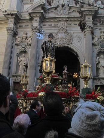 Salida de la Basílica. Foto: Francisco López