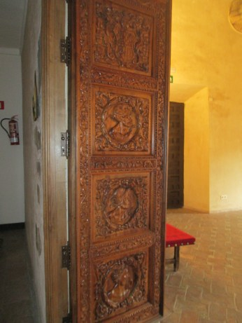 Puerta de la Cuadra Dorada. 1er cuarto escudo familiar. Casa de los Tiros. Foto: Francisco López