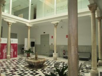 Patio. Palacio de los condes de Gabia. Realejo. Foto: Francisco López