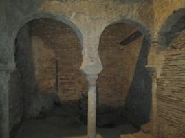 Baños árabes. Palacio de los Marqueses de Villaalegre. Foto: Francisco López